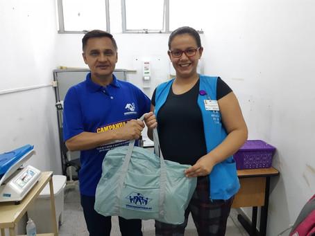 CAMPANHA DE SINDICALIZAÇÃO 2019: Sindicato entrega Kit Maternidade na UBS Jd. Paulistano