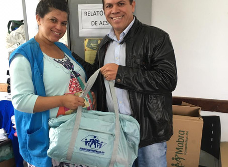 CAMPANHA DE SINDICALIZAÇÃO 2019: Sindicato entrega Kit Maternidade na UBS Vargem Grande