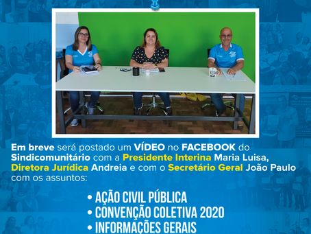 Ação Civil Pública e Convenção Coletiva 2020