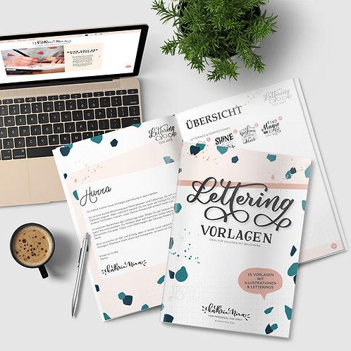 Vorlagen Lettering & Illustration - Printable