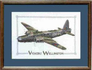 Wellington Cross Stitch Kit