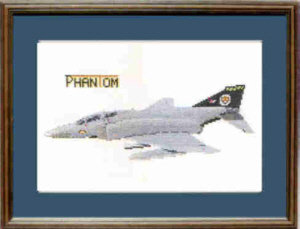 Phantom Cross Stitch Kit