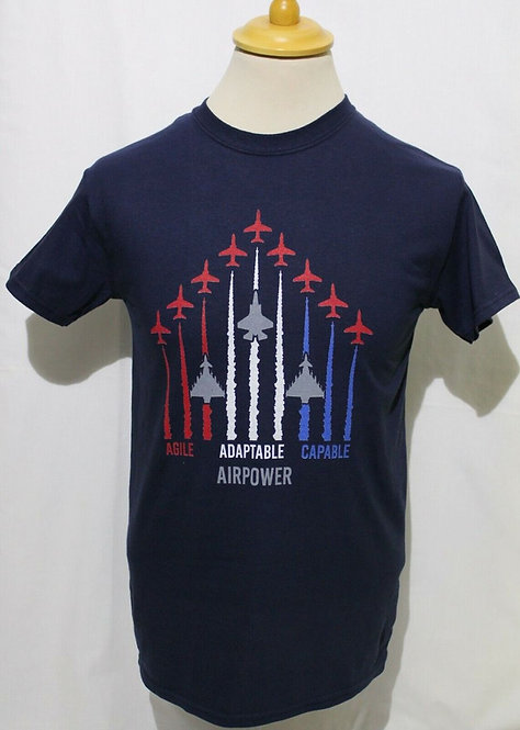 Men's RAF Red Arrows, F35 &Typhoon T-shirt