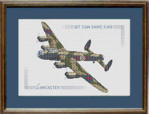 Lancaster Cross Stitch Kit