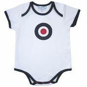 Roundal design babygrow