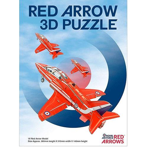 Red Arrows 3D Foam Puzzle