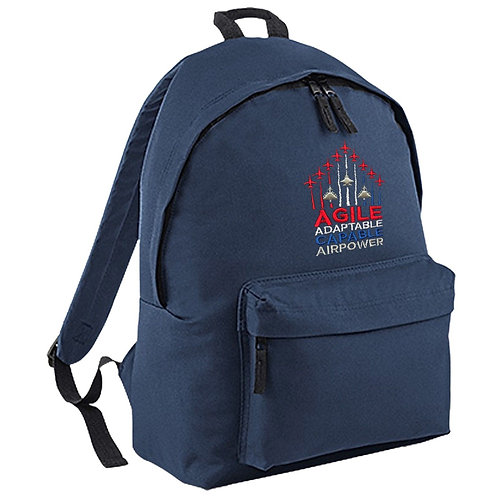 'Agile and Adaptable' Backpack - Navy
