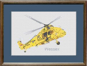 Wessex Cross Stitch Kit