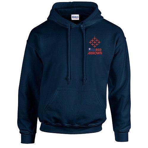 Red Arrows Adult navy Hoodie Diamond 9 Logo