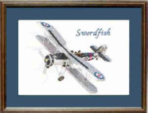 Swordfish Cross Stitch Kit