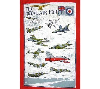 The Royal Air Force design Tea Towel