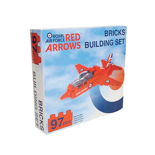 Red Arrows Building Brick Set
