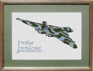 Vulcan XH558 Cross Stitch Kit