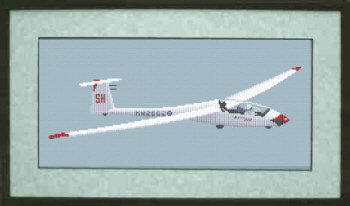 Glider Cross Stitch Kit