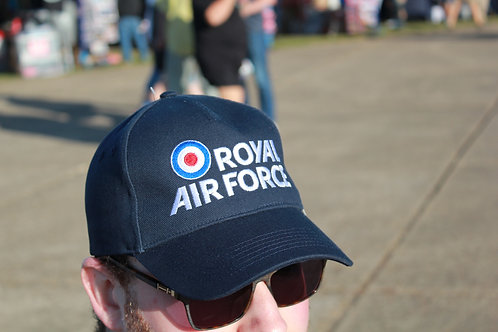 RAF logo navy Baseball cap