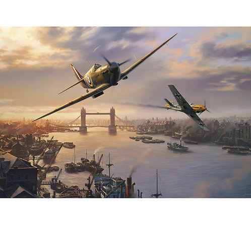 Gibsons Jigsaw puzzle Spitfire Skirmish
