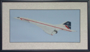 Concorde Cross Stitch Kit