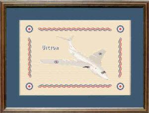 V Bomber Victor Cross Stitch Kit