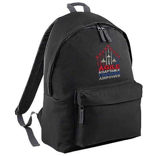 'Agile and Adaptable' Backpack - Black