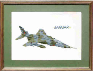 Sepecat Jaguar Cross Stitch Kit