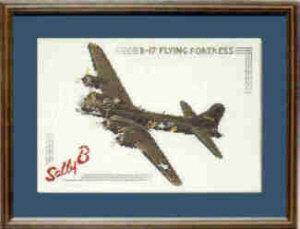 B17 Flying Fortress Cross Stitch Kit