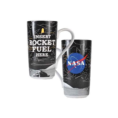 NASA Latte Rocket Fuel Mug