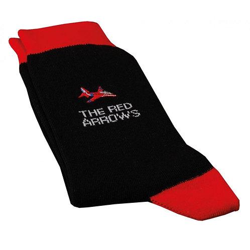 Red Arrows Socks