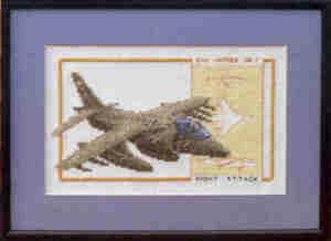 Harrier Cross Stitch Kit