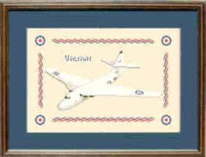 V Bomber Valiant Cross Stitch Kit