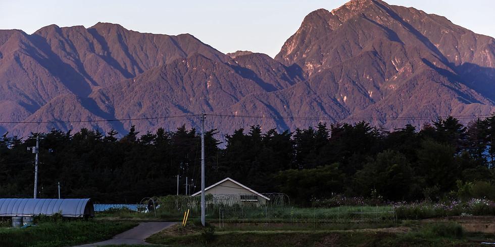 【開催中止】5/23(土) 北杜 長坂駅からぐるり山岳展望ウォーク