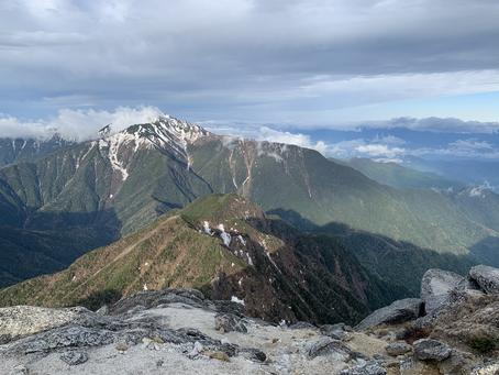 5月22日山頂の登山道状況