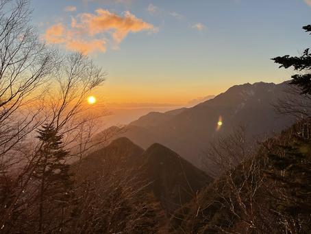 11月22日黒戸尾根登山道速報