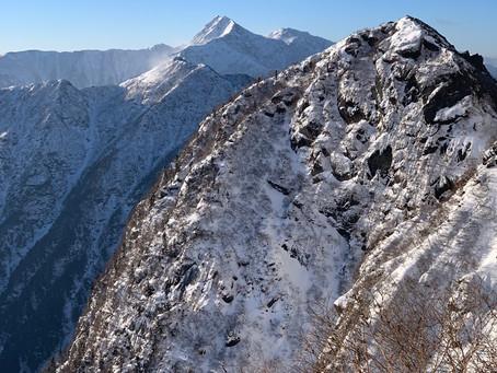 1月14日登山道状況