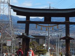 武田の里を歩きました!