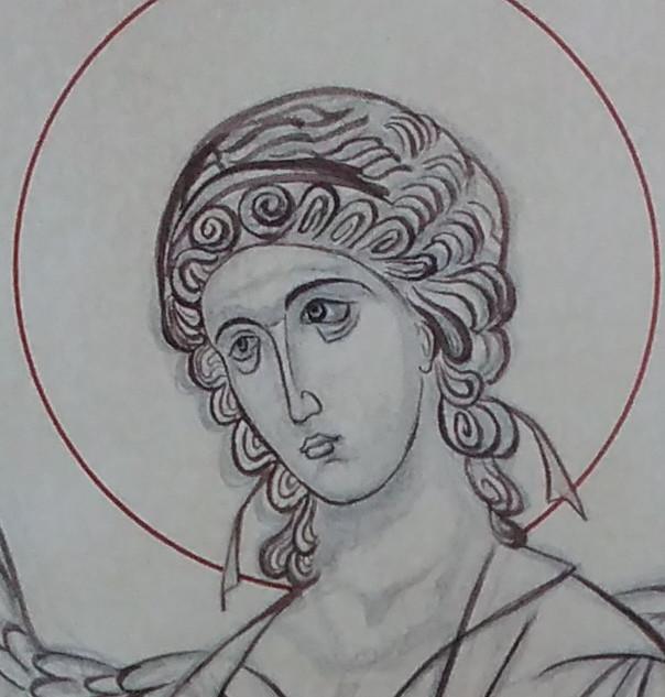 Archangel Gabriel (detail)