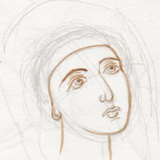 More struggling with Byzantine faces.
