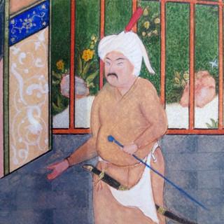 Genghis lookalike (detail)