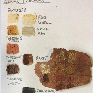 First draft colour chart