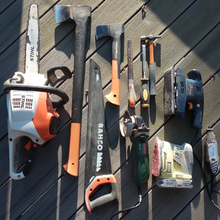The sculptor's arsenal