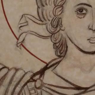 Archangel Michael, detaio