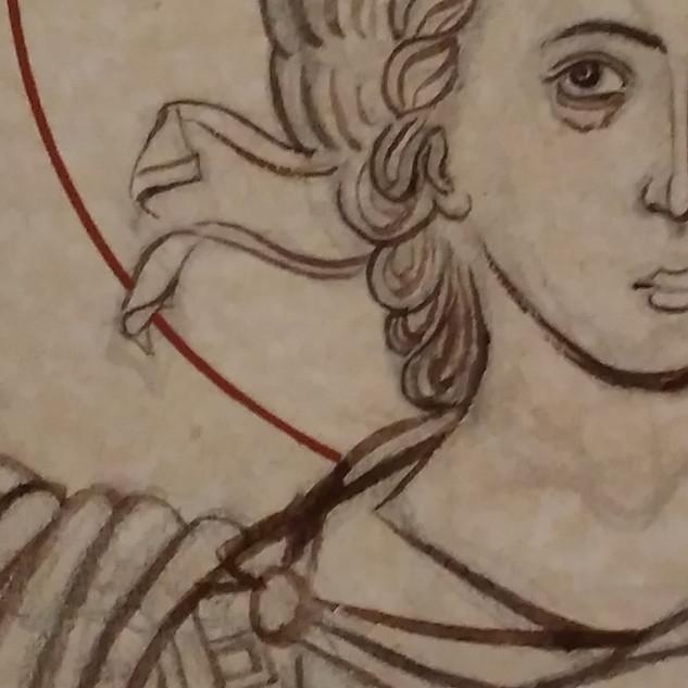 Archangel Michael (detail)