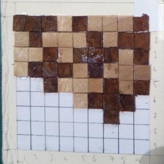 Veneer pixels