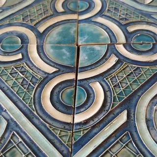 Cosmati Pavement tiles (detail)