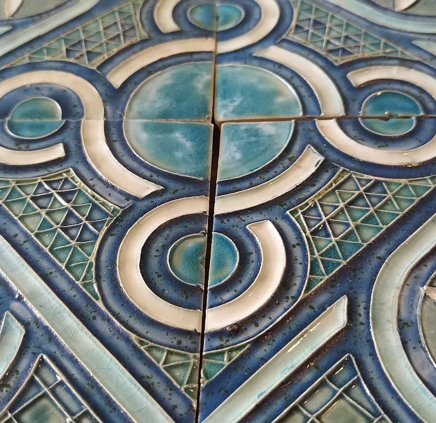 Cosmati Pavement tiles (detail)