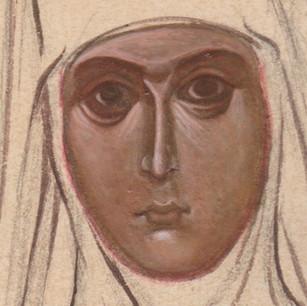 St. Maria of Paris (detail)