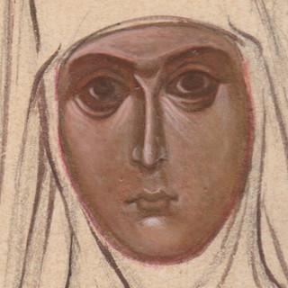 St. Maria of Paris, detail