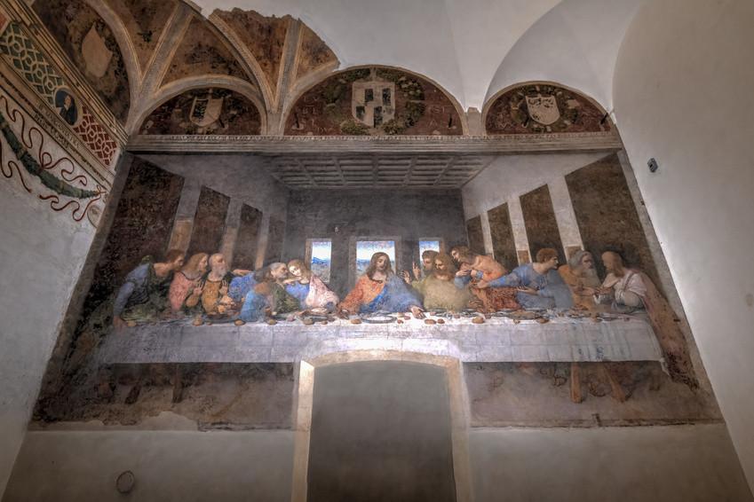 Das Letzte Abendmahl - S. Maria delle Grazie - Mailand