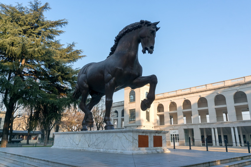 Pferdeskulptur - Mailand