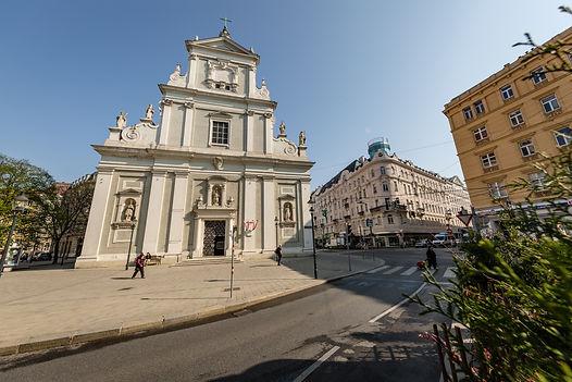 Karmeliter Kirche in 1020 Wien