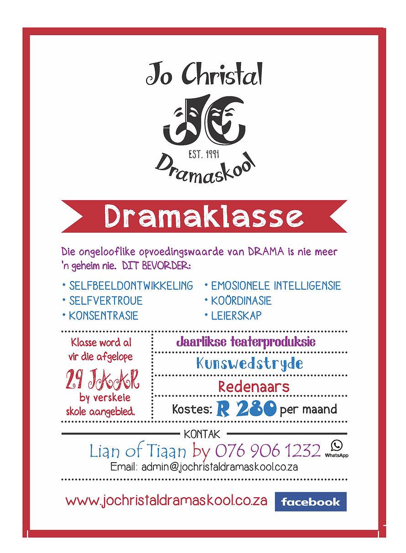 Jo Christal Dramaskool_Bemarking 2020_Jp